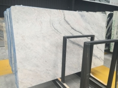 Water White Marble Big Slab With Blue Veins Wholesale