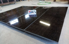 Black Galaxy Granite Tiles Supply For Building Project