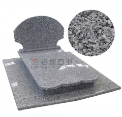 Chinese Granite Swan Blue Tombstone Monuments Headstone