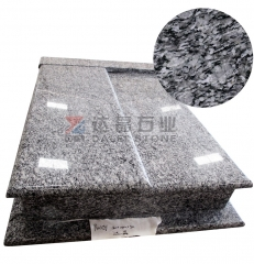 Chinese Granite Spary White Tombstone Monuments Headstone