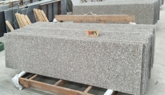 G664 Granite Countertops Flat Edge Brown Granite