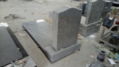 Light Grey Color American Style Tombstone Monuments With Good Design