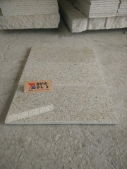 Rusty Yellow G682 Granite Tiles With Polished Finish Way