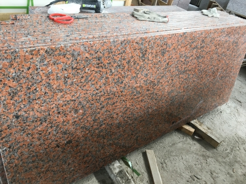 Maple Red G562 Countertops Vanity Tops With Polished Finish Way