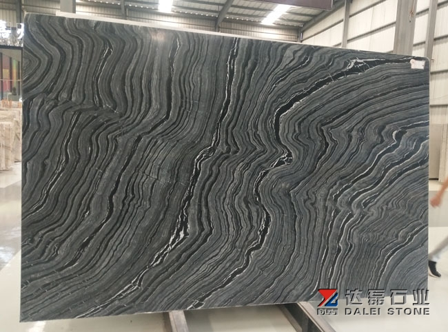 Ancient Wood Marble Big Slabs From Own Slabs Stands