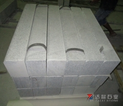 Grey Granite G623 Paving Stone Kerb Stone Edge Chamfer