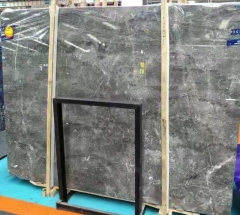 Dalei Marble Ink Grey Marble Big Slabs For Building Project