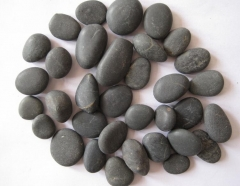 Natural Black Pebble Stone Wholesale New