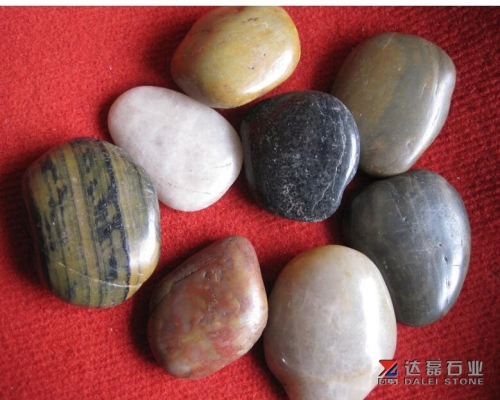 Mix Color Pebble Stone Wholesale