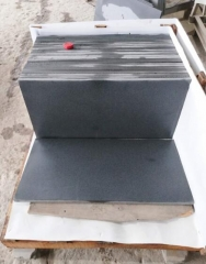 Dalei Stone Hianan Black Basalt Tiles Grinding 400 Finish Way