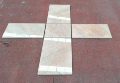 Dalei Marble Tiles Red Beige Marble Polished Tiles