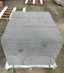 Hainan Black Basalt Kerb Stone Grinding With Cat Paw