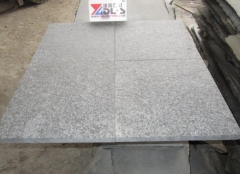 G684 Granite Tiles Flamed Finish Way