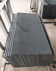 Hainan Black Basalt Blue Basalt Tiles Grinding 400 With Cat Paw