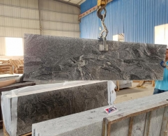 New Viscount White Granite Small Slabs