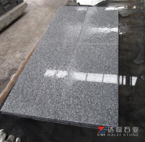 G688 Granite Grey Granite Tiles Flamed Finish Way