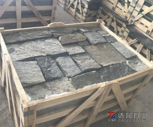 Black Loose Stone Wall Cladding Dalei Stone
