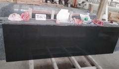 Dalei Engineered Stone Pure Black Quartz Slabs