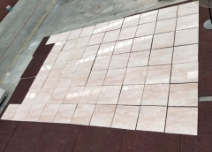 Pink Color Marble Tiles Polished Marble Wholesale
