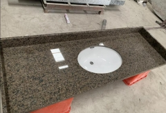 Tropic Brown Granite Countertops With Sinks