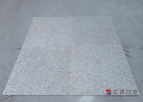 Yellow Rusty Granite G682 Polished Tiles