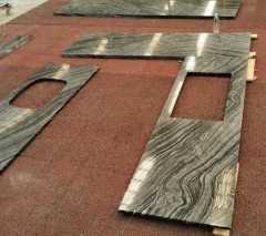 Ancient Wood Marble Countertops Classical Color Online Selling