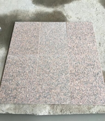 Red Granite Tiles Cut To Size Granite Flamed