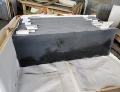 Black Basalt Hainan Basalt Blue Basalt Honed Finish Way Basalt Paving