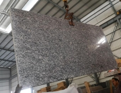 New Spray White Big Slabs Polished On Sale