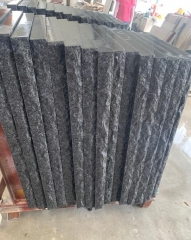 Angola Black Absolutly black Flamed And Brush Fours Side Natural Finish Way